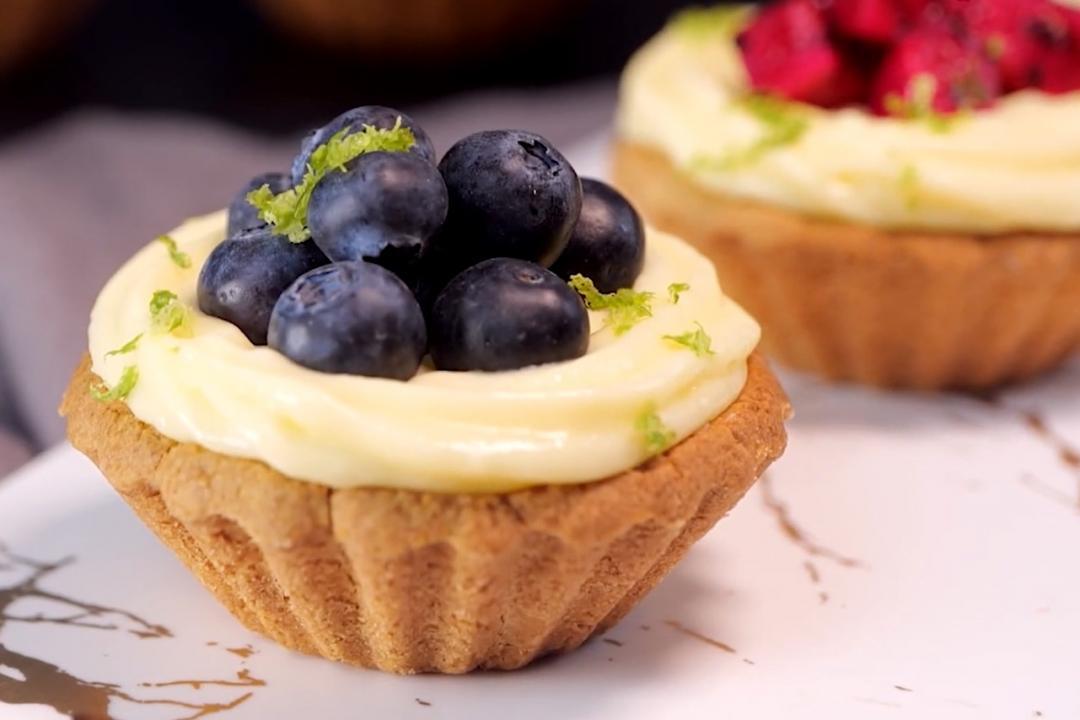 米穀粉正夯!來做「水果檸檬塔」無麩質甜點也能這麼好吃