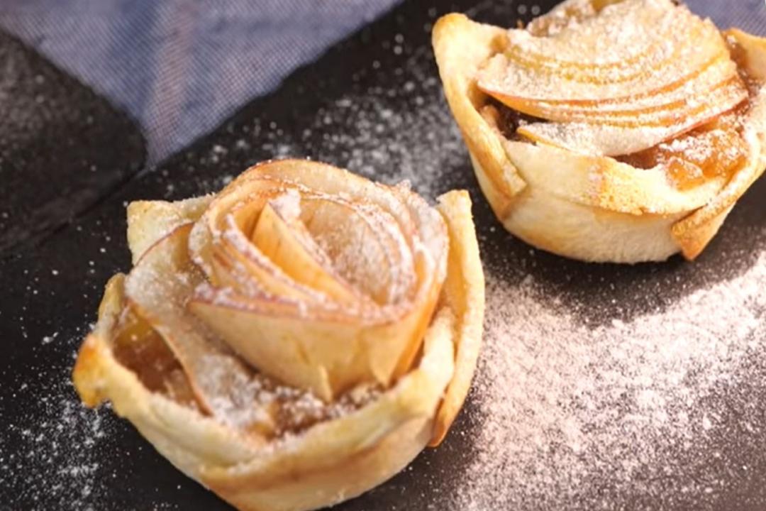 「蘋果派」酥脆又好吃!吐司做塔皮秒變簡易小點心