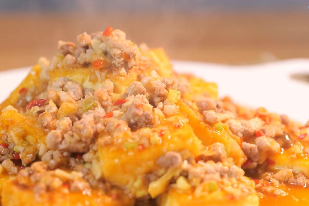 「魚香豆腐」沒有魚也超下飯!鮮鹹醬香好做又好吃