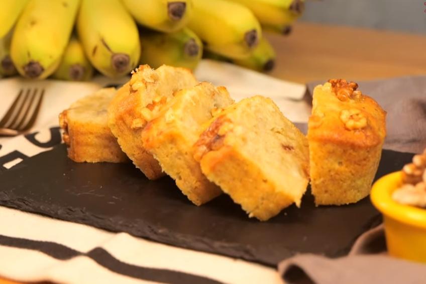 香蕉磅蛋糕零失敗!神助攻「蜂蜜」增添濕潤綿密口感