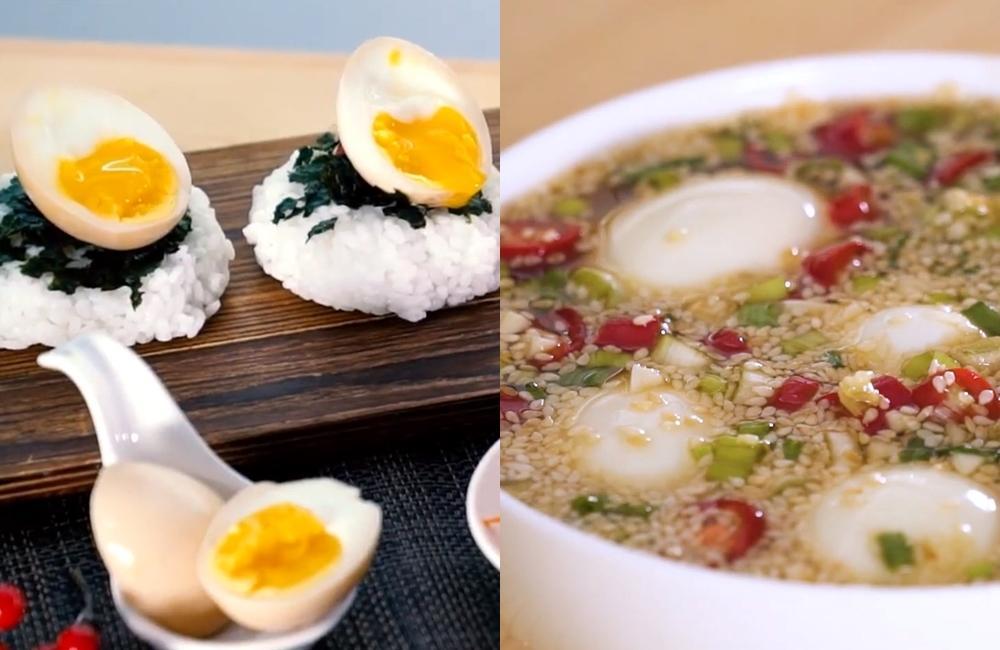韓國「麻藥雞蛋」一吃上癮!香辣版溏心蛋配飯糰超搭