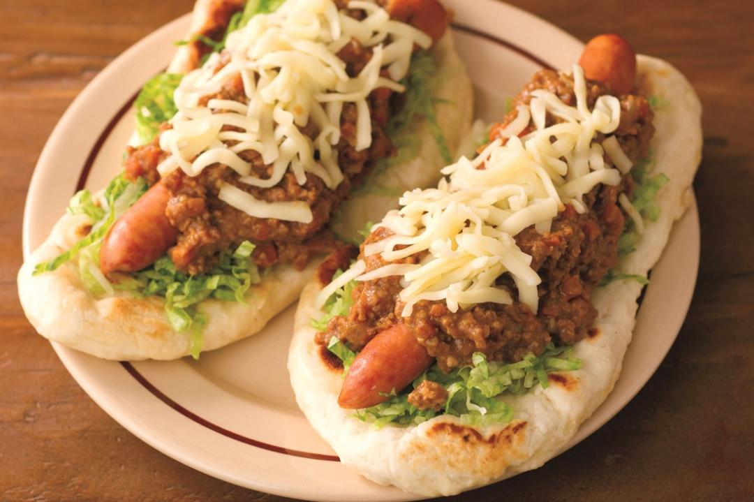 平底鍋煎印度烤餅Naan!搭極品咖哩醬熱狗超好吃