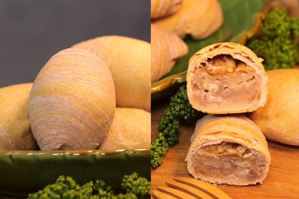 中秋月餅DIY!真材實料「芋頭酥」超擬真小芋仔造型這樣做