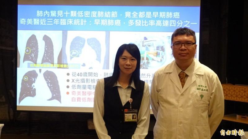 X光照不出來! 中年婦電腦斷層掃描赫見10顆早期肺癌