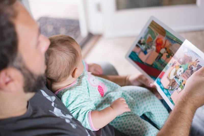 健康網》親子共讀好處多多 醫:若爸爸一起效果更好
