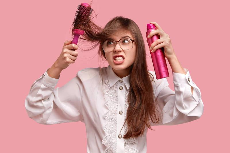 健康網》常用髮膠會禿頭? 食藥署:別直接碰頭皮