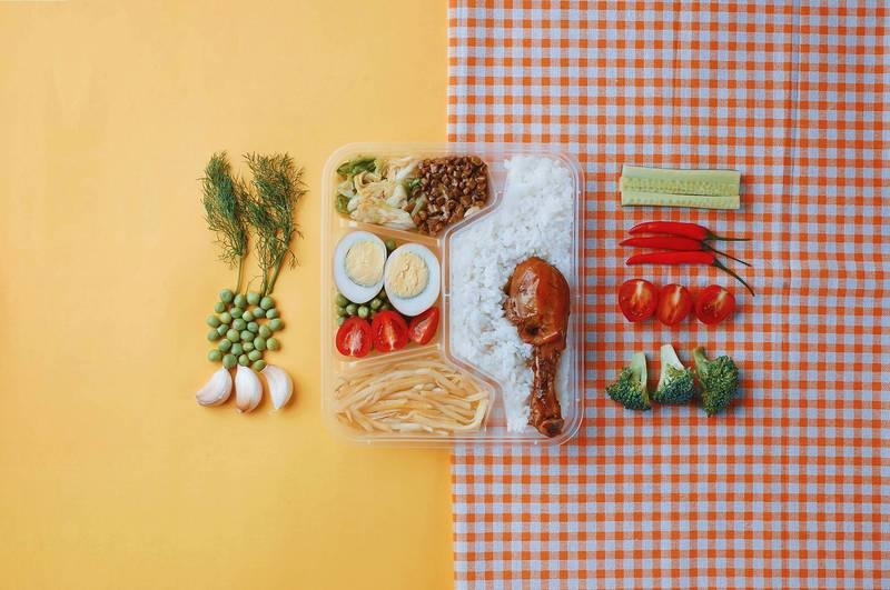 健康網》午餐這樣吃不怕胖! 營養師教逾3千種飲食搭配