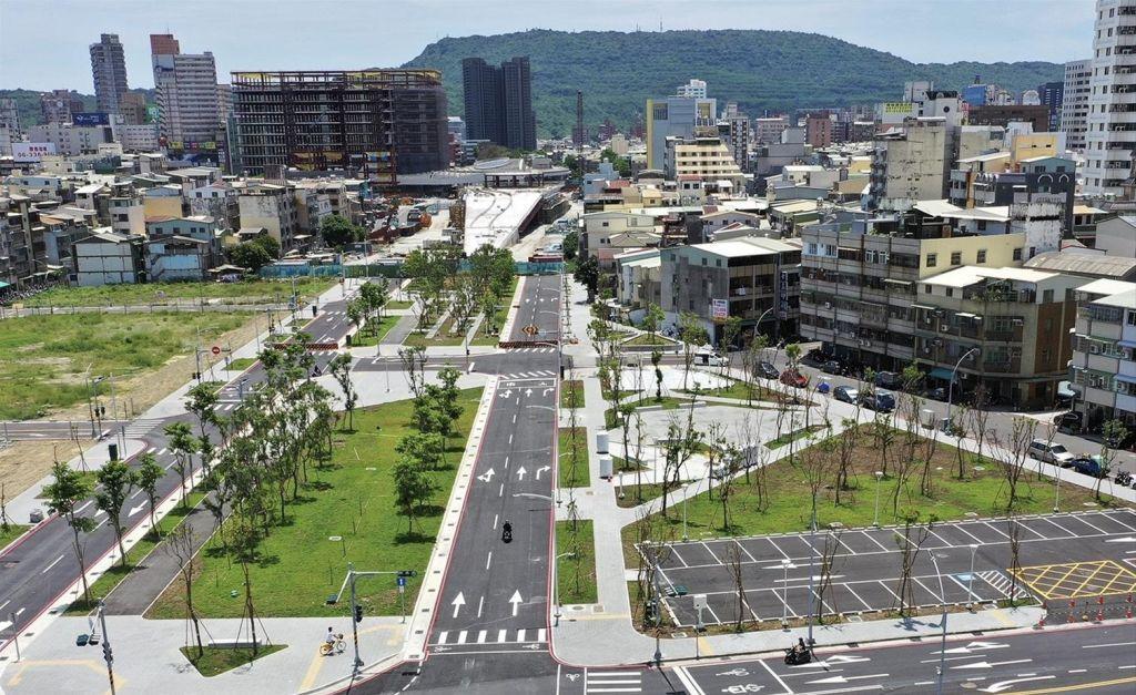 15.37公里綠園道6月底完工  微整形營造藝術長廊沿線加分