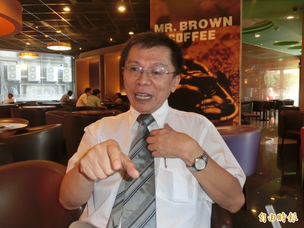 無黨籍前立委沈富雄決定參選台北市長。(記者李欣芳攝)