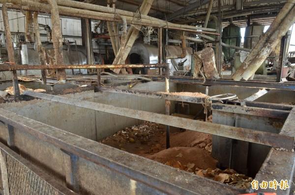 畜牧場被民眾檢舉疑似用動物屍體煉油並供給郭烈成製成劣質豬油,稽查人員進一步了解中。(記者邱芷柔攝)