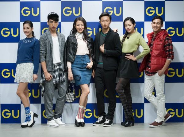 GU今天下午發表2014秋冬服裝,帶來最新潮流單品的搭配樂趣。(GU提供)