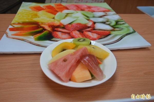 今年「台南美食節」主題之一,冰果室。(記者洪瑞琴攝)