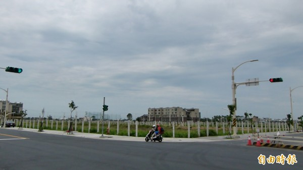 桃園市府將標售中路地區土地。(記者謝武雄攝)