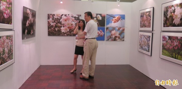 2015新光三越國際攝影聯展,作品令人驚艷。  (記者黃文鍠攝)