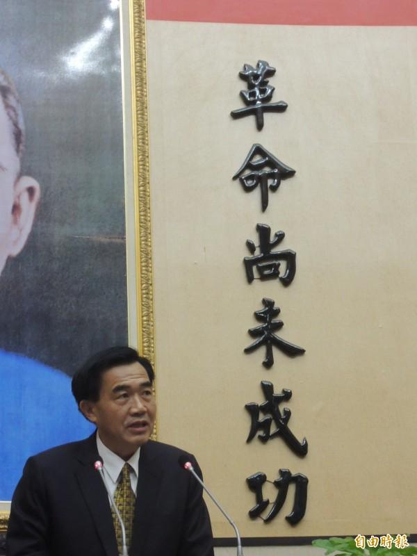 台南府會之爭這場「民主聖戰」,誰才是革命尚未成功?(記者洪瑞琴攝)