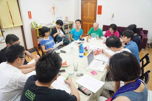 社民黨與綠黨於26日下午召開第一次政黨合作協商會議。(社民黨提供)
