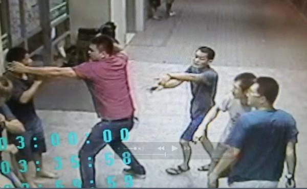 彰化二基醫院,傳出急診室暴力傷人。(翻攝畫面)