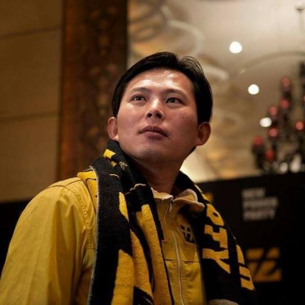 中研院法律所研究員黃國昌今天中午宣布參選汐止區立委。(取自黃國昌臉書)