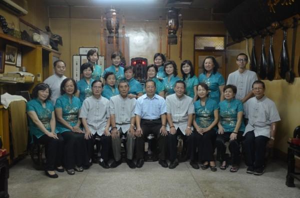 南聲社創社百週年,是台灣南管樂具歷史代表性館閣。(記者洪瑞琴翻攝)