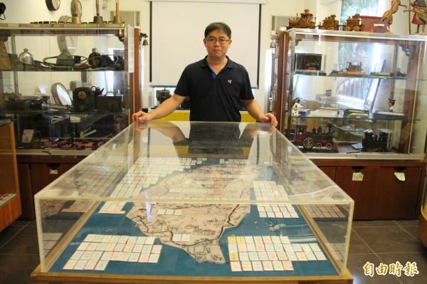 福井鐵道文物館,珍藏歷來全台車站,近300張硬式車票。(記者陳冠備攝)