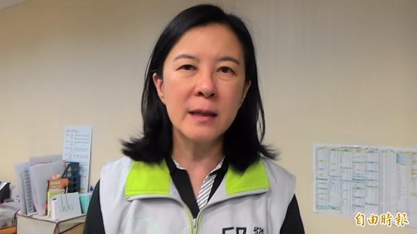 邱莉莉呼籲國安單位應重視民進黨主席蔡英文的安全。(記者蔡文居攝)