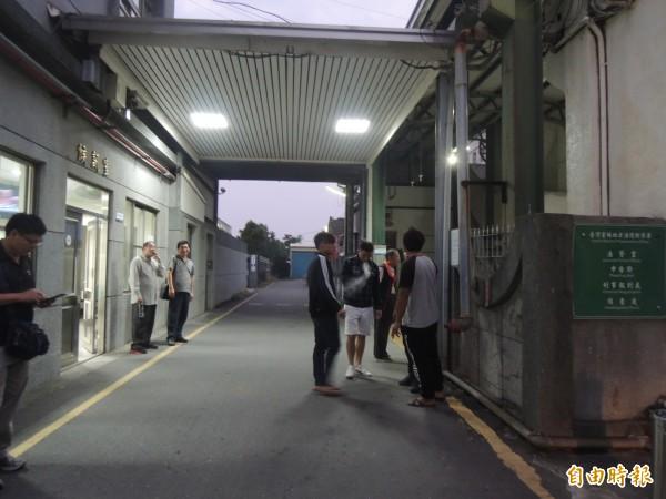 台西鄉長趙瑞和涉暴力討債案,檢方傳訊多名關係人到案。(記者廖淑玲攝)