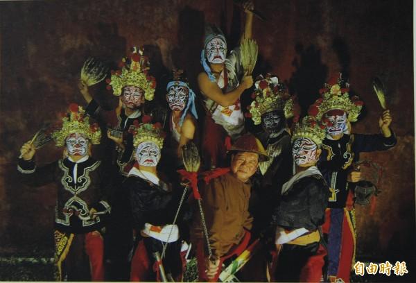 他們不是「八嘎囧」 他們全國將團的始祖。(記者王捷攝)