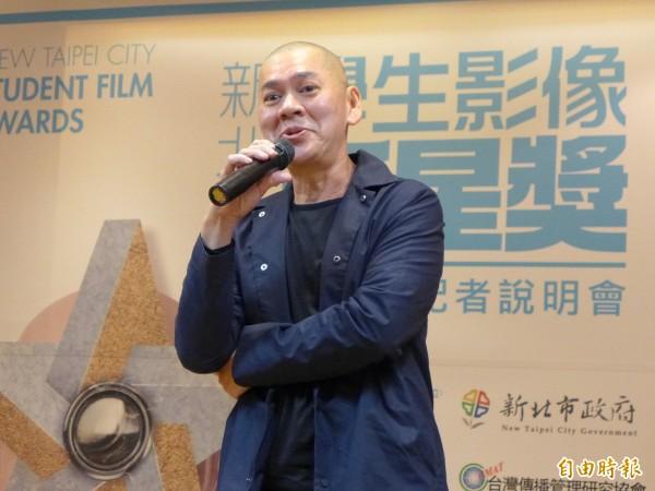 導演蔡明亮認為,創作能量大多來自好電影、多閱讀和認真過生活。(記者李雅雯攝)