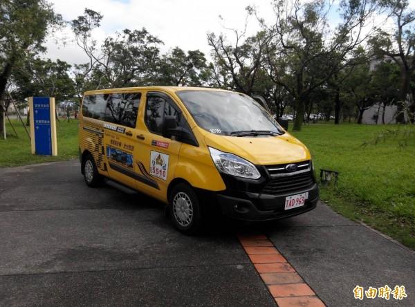 縣府促縣內業者申請無障礙計程車補助。(記者簡惠茹攝)