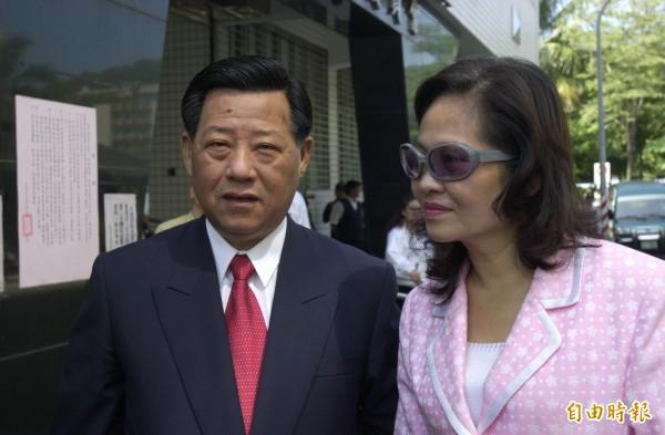 前高雄市議長朱安雄並未現身來送愛妻最後一程。 (資料照片張忠義攝)