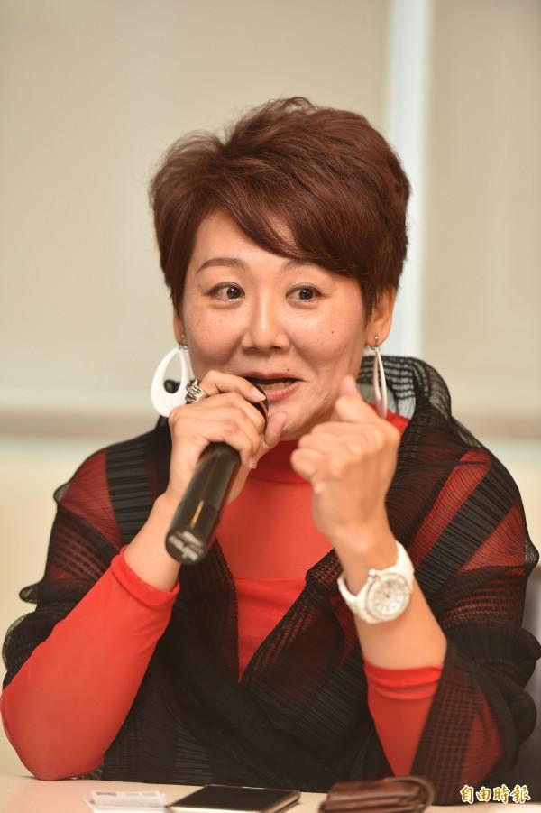 聚勝科技有限公司董事長林淑貞,今天現身說法,用自己的故事來激勵更多的人,永遠不要輕言放棄!  (記者張忠義攝)
