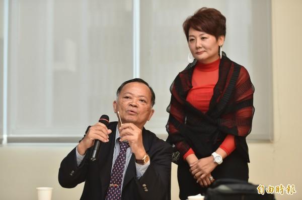 義大醫院內科副部長彭道雄淺談『基因檢測』(記者張忠義攝)