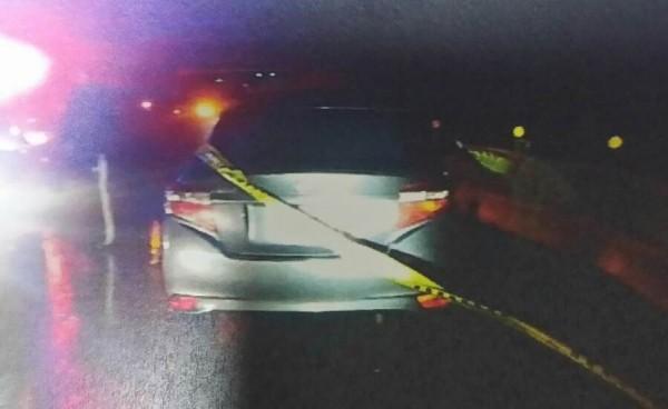 警方迅速找到魏男的座車,仍來不及救回他一命(記者吳昇儒翻攝)