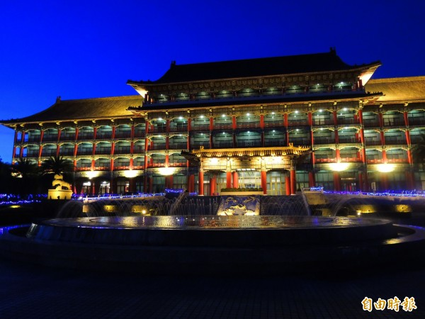 立委調查指出,高雄圓山飯店3年來整修經費只有57萬元。(記者黃旭磊攝)
