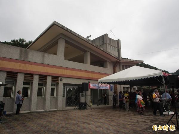 新園社區日間托老中心設在蘇巴陽活動中心。(記者王秀亭攝)
