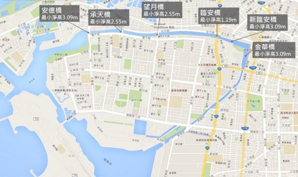運河即將開放從安億橋到金華橋間的河道(記者黃文鍠翻攝)