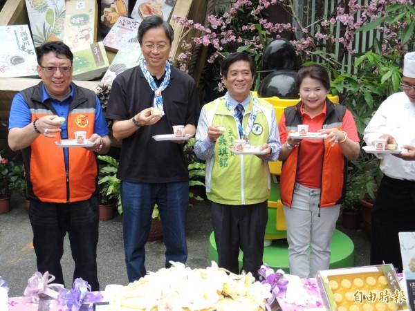 針對沖之鳥礁漁權爭議,張善政表示會讓日本知道台灣的決心。(記者翁聿煌攝)