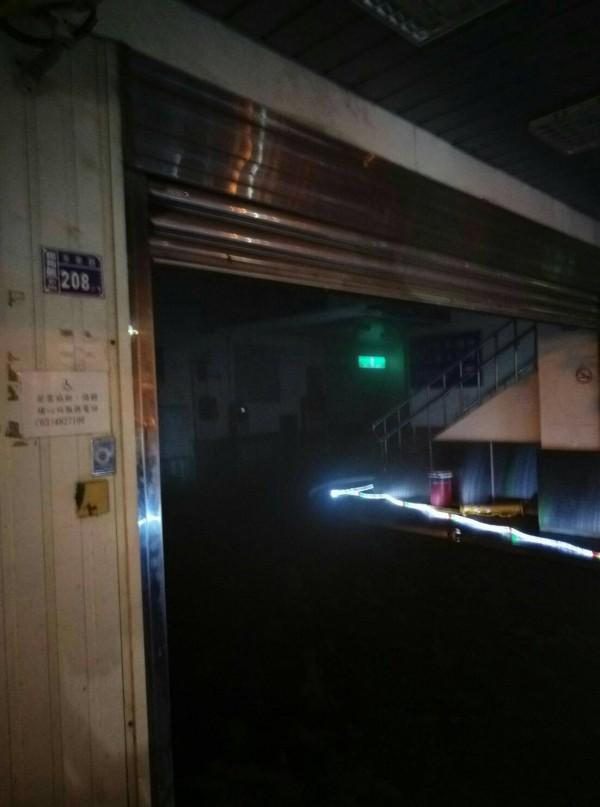 埔心車站發生火警。(記者周敏鴻翻攝)