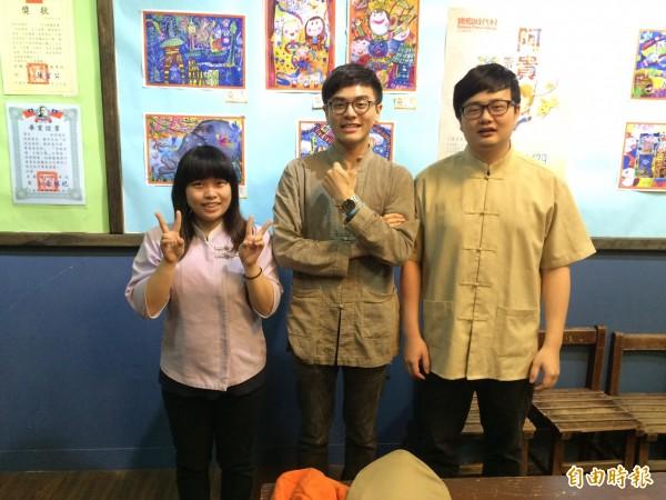 中彰投分署開辦青年職訓專班,協助青年找到有興趣的工作(記者蘇金鳳攝)