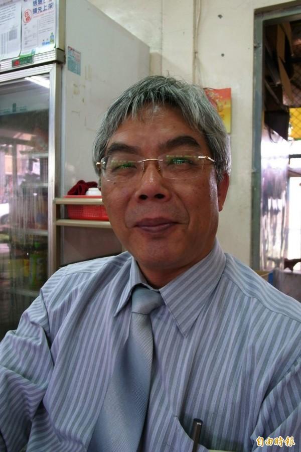田智宣是花蓮第一位民進黨接連攻佔吉安鄉長、花蓮市長的政治人物,超越藍綠。(記者花孟璟攝)