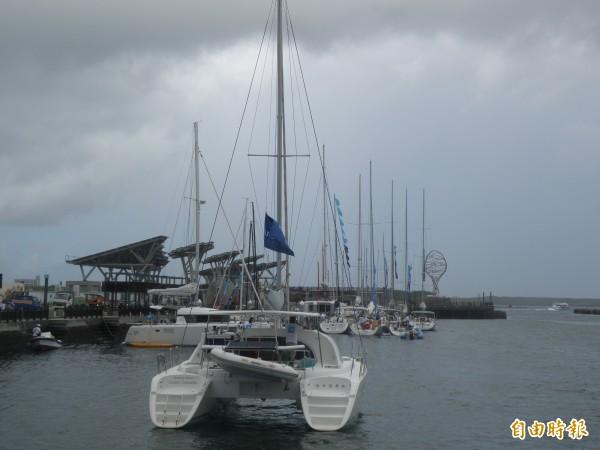 第四屆澎湖島帆船週比賽,將以七美、望安為主要賽事場地。(記者劉禹慶攝)