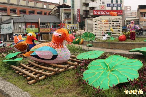 配合台灣燈會,明年的斗六燈會將擴大舉辦。(記者詹士弘攝)