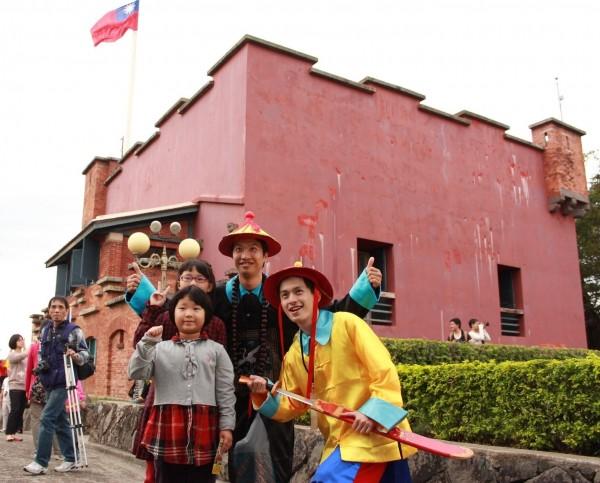 淡水古蹟博物館紅毛城園區從7月開始恢復門票收費。(淡水古蹟博物館提供)