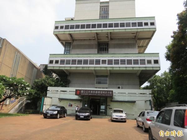 國立台中圖書館精武分館將成為台中市的「非營利組織(NPO)培力實驗專區」。(記者蘇金鳳攝)