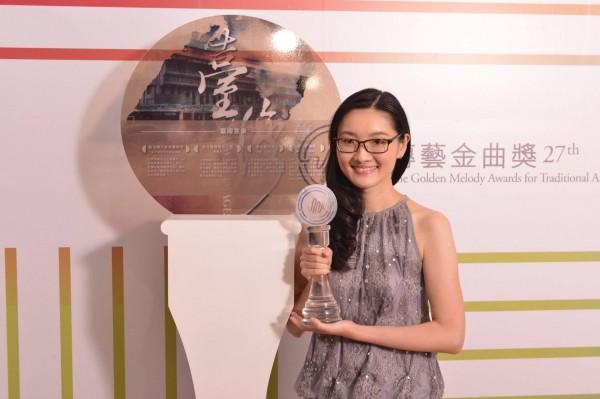 陸橒以民族管弦樂作品《陣》獲得傳藝金曲獎最佳創作獎。(南藝大提供)