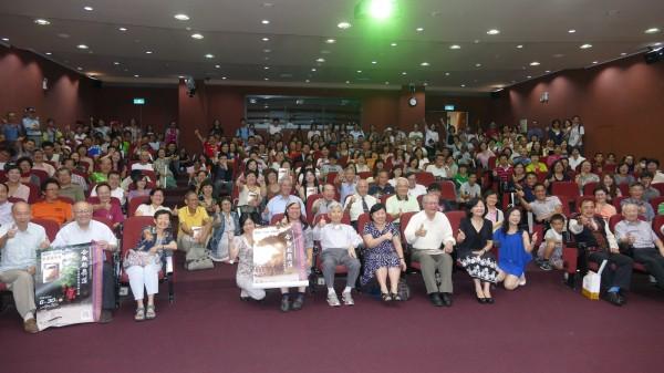今年6月30日楊南郡舉辦「合歡越嶺道太魯閣戰爭與天險之路」新書發表會盛況。(圖由林務局提供)