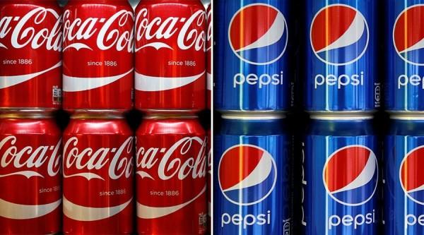 可口可樂公司和百事公司在近5年內,贊助了96間健康組織,引發公眾質疑。(路透)