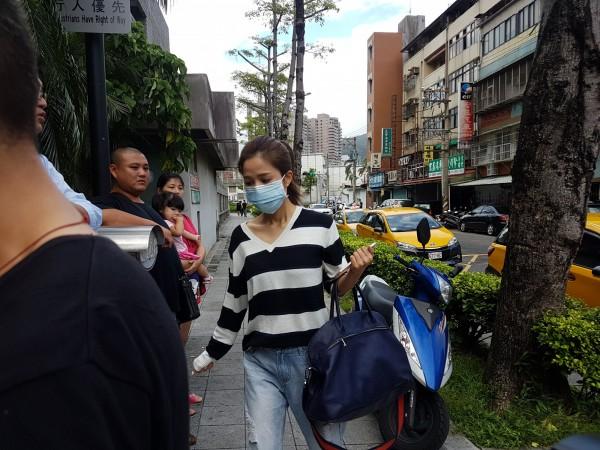 吳怡霈開車撞傷2名女子,今承諾以91萬餘元達成和解。(記者黃欣柏攝)