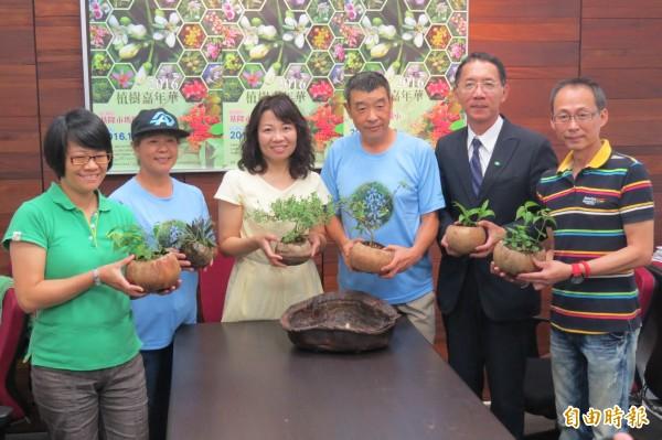 瑪陵國小將於10月29日舉辦植樹嘉年華活動,當天將種下1001株台灣原生植物。(記者俞肇福攝)