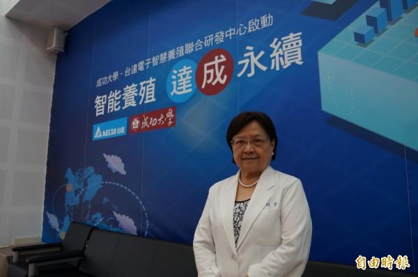 成功大學生物科技與產業科學系教授羅竹芳,二度獲得生物及醫農科學類科國家講座主持人。(記者劉婉君攝)